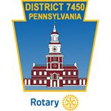 Rotary Disctrict 7450 logo (condenced)