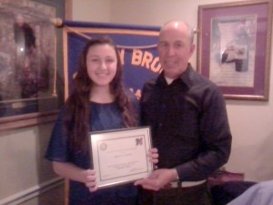 2013-03 - MP Student of the Month