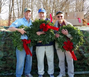 2015-12-21 - Wreaths for National Cemetery