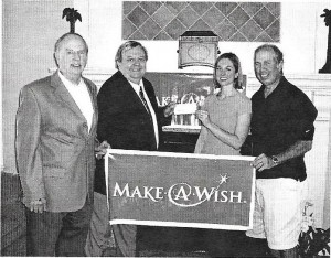 2008-09 - Presentation to Make-a-Wish Founda. $2,5 00 Rebecca Reid